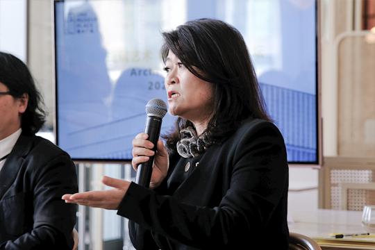 Gensler大中华区执行总裁李晓梅女士发言