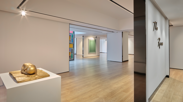 The Room位于办公楼的五、六层,面积约600平方米。开幕展主题与空间同名,共展出了20余件藏品