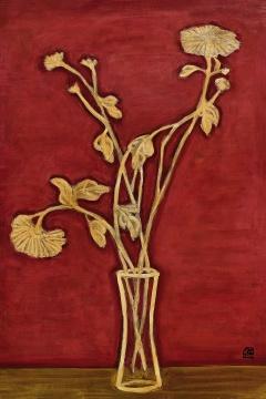 · 常玉1940年代花卉力作《红底黄菊》领衔现当代艺术版块,中外艺术名家齐聚为众藏家呈现兼备市场价值和学术内涵的重磅佳作