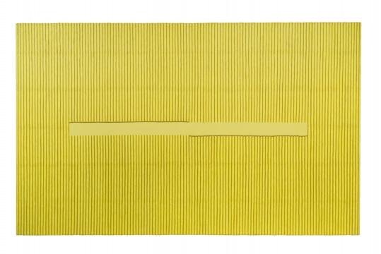 朴栖甫 《描法No.060214》2006 布面综合材料、韩国纸 160 × 260cm 华艺国际(北京)2020秋季拍卖会拍品