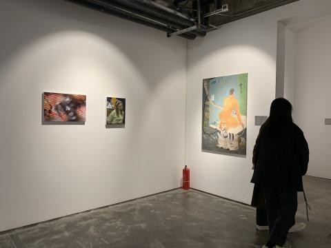 """""""瞬息时代的诗歌""""馆藏展 展览现场"""