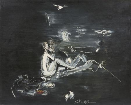 刘锋植 《1997 》145x180cm 布面油画 1997  艺·凯旋画廊