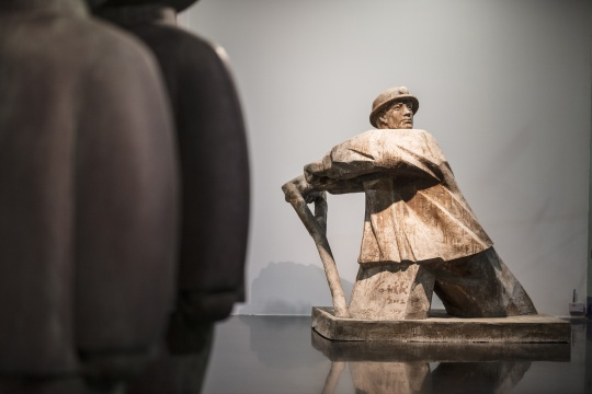 王广义的雕塑作品