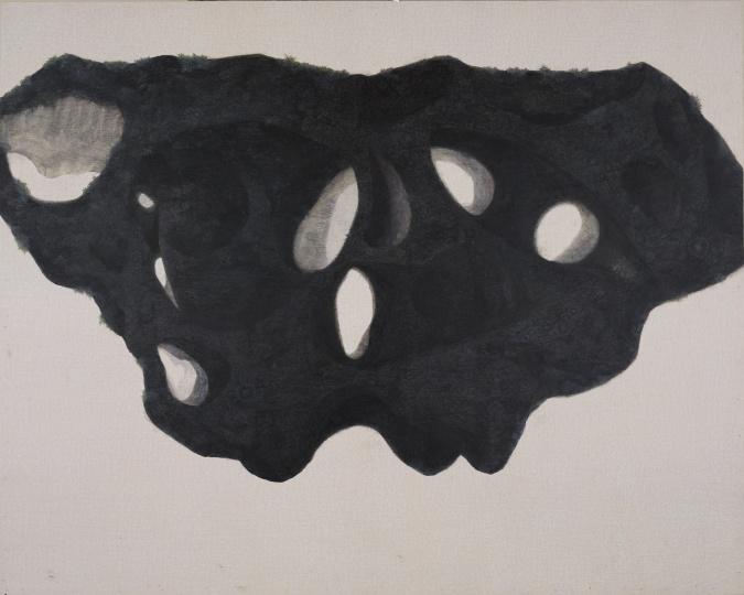 《闪光的形体A》80×100cm 布面油画 2020