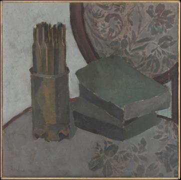 《椅子》56x56cm 布面油画 2016