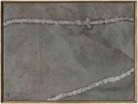 《洁净的 》41.5x31.5cm 布面油画 2020