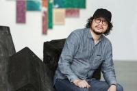 桑火尧:画了22年方块,他在绢本上突破了时间和空间