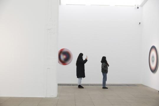"""""""颜磊说明书""""展览现场 白盒子美术馆现场"""