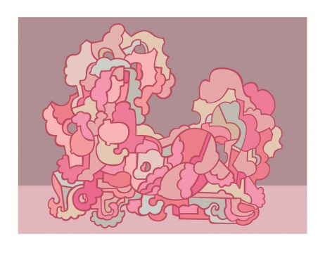 杨东鹰 《春色十五号》110×143cm 艺术微喷99版 2020