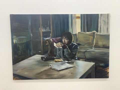 陈晗 《封存》 120×180cm 布面油画 2020
