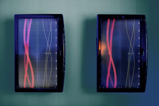 郑达《机器的自在之语》 互动LED装置 2016