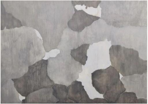 《溪谷空长—1》114 × 160 cm 布面油画 2020