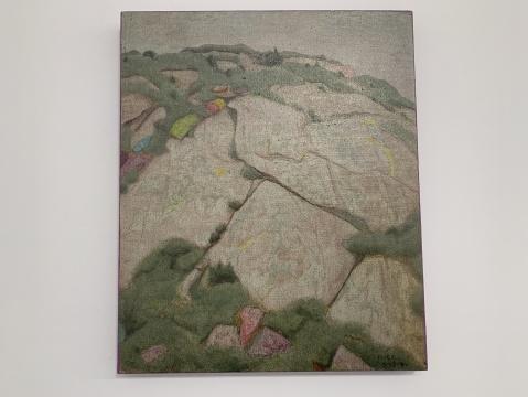 《如春再来》60× 50 cm 布面油画 2020