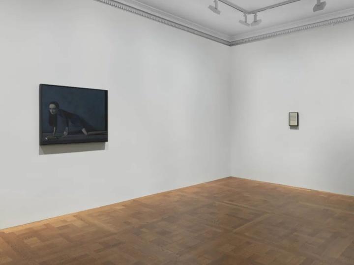 """卓纳画廊宣布代理刘野后为其举办的首场个展""""书与花""""现场 卓纳画廊纽约(2020年10月29日至12月19日)图片提供:卓纳画廊"""