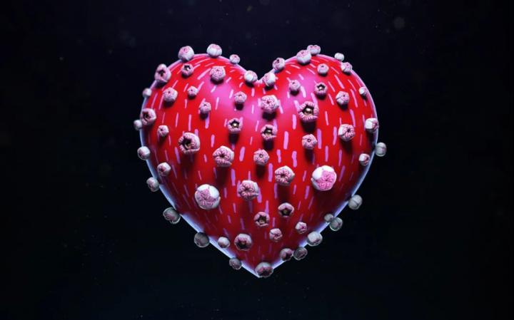 乌克兰艺术家Jul Shamsheieva作品《One World. One Heart》