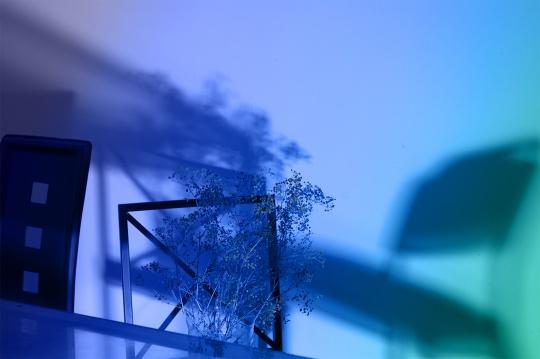 《格物系列-蓝色20#》73.4×110cm 艺术微喷 2020