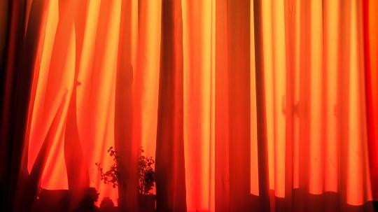 《格物系列-橙色28#》101.2×180cm 艺术微喷 2020