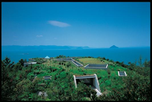 直岛 Naoshima,图片来源:安藤忠雄建筑研究所