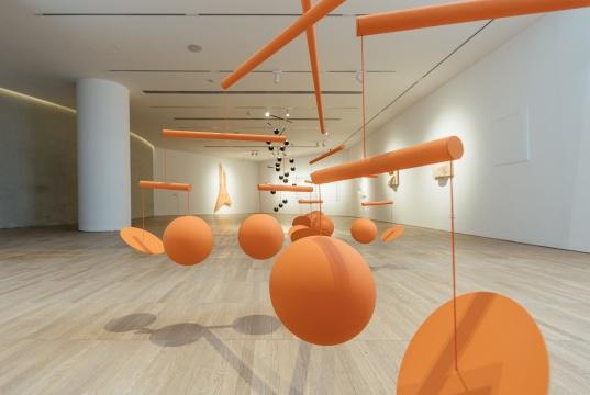 泽维尔·维扬 个人空间 展览现场