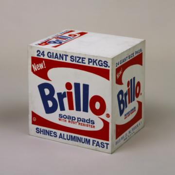 Brillo Box(Soap Pads)1964   图片来源:https://www.moma.org