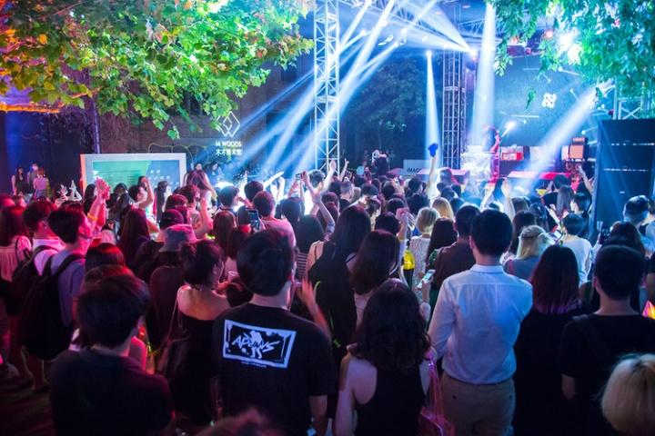 木木音乐节现场