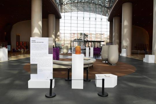 """""""材料探索""""对话玻璃 启皓青年艺术家支持计划及作品展"""