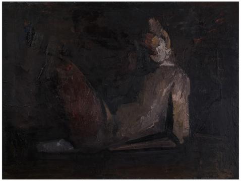 邱瑞祥 《无题》 60×80cm 布面油画 2015-2016