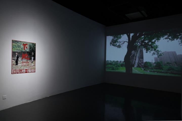 """湖北美术馆许宏翔个展""""热土野望""""个展现场(20201.3.12-5.16)"""