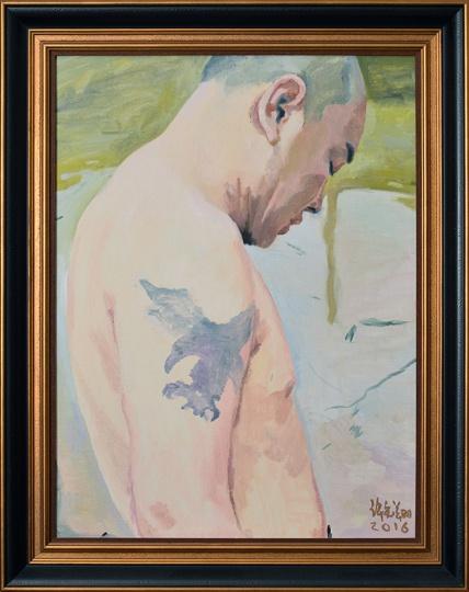 《李强肖像》80×60cm 布面油彩 2016