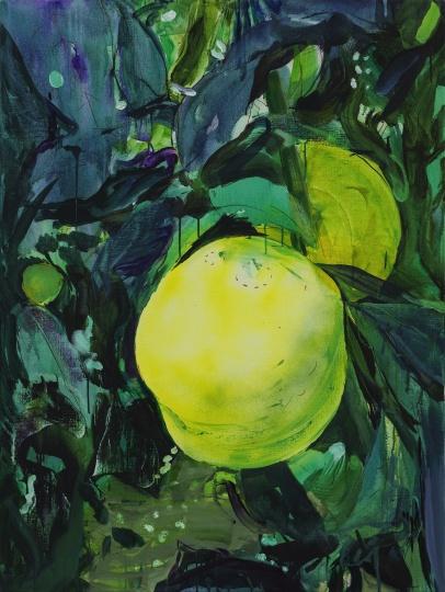 《果子》 120×90cm布面油彩、丙烯2020