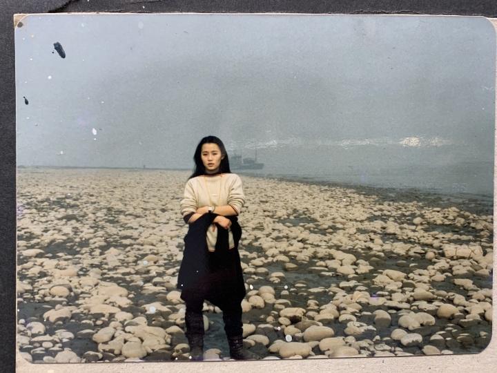 17岁左右,正在读川美附中时的陈曦