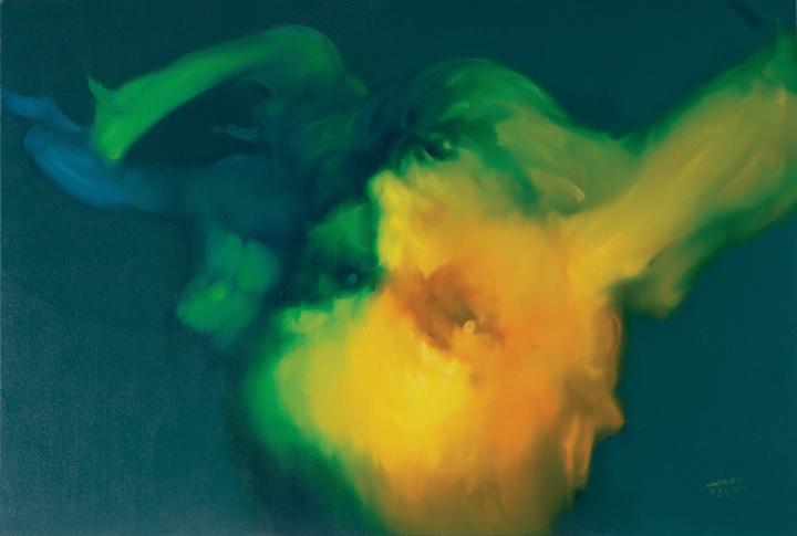 吴建军 《身体的图像No.27》135×200cm布面油画2005