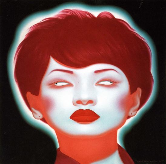 俸正杰  《中国肖像2007No.5》  2007年作  268.8万元  2008北京保利春拍  系艺术家个人最高拍卖记录