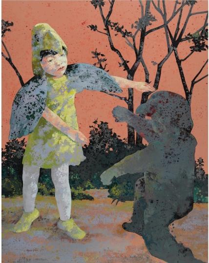 郭晋  《表现 No.7》  2007年作  136.53万元  2008纽约苏富比春拍  系艺术家个人最高拍卖记录