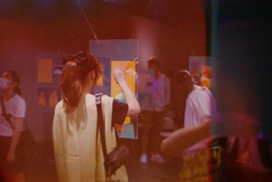 《空盒游戏·距离与无间》项目现场