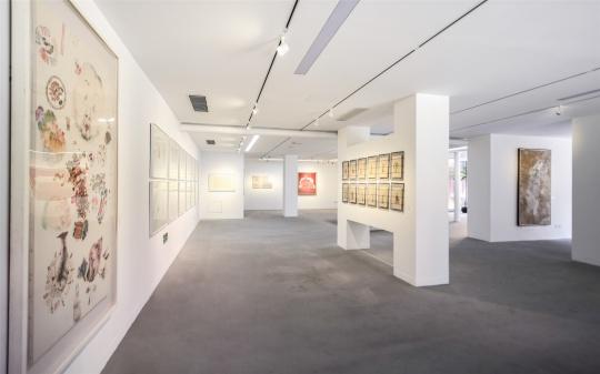 """大千画廊新展""""质文代变"""",探讨当代水墨的多元表达"""