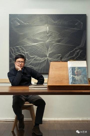 艺术家陈督兮,摄影:董林