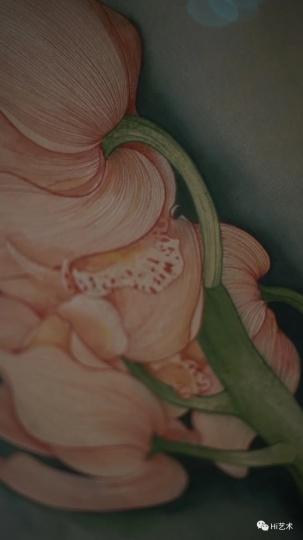 《兰花》细节