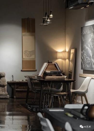 陈督兮位于北京顺义的工作室