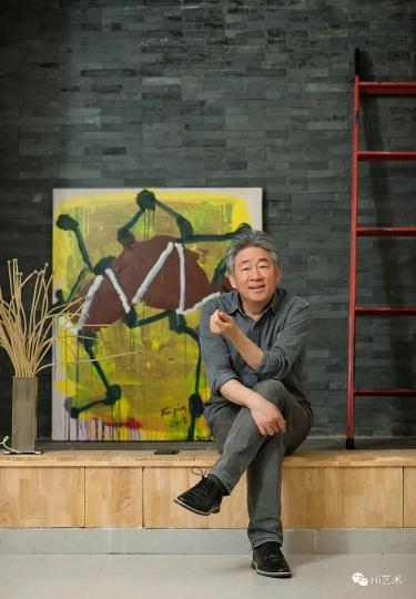 艺术家谭平(摄影:董林)