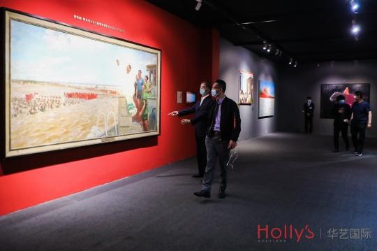 华艺国际北京春拍启幕,首现拍场之旷世巨作《群马》将再牵常玉传奇