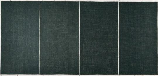 李华生《0679》180 x 97cm每屏四屏 纸本水墨2006