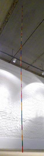 《矗》400cm 粉笔、胶2014