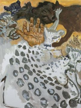 倪军《青春》120 x 90 cm 布面油画 2020