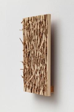 菅木志雄《通景》 31×25×8.5cm木头2011