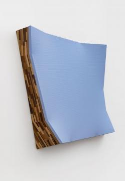 陈彧凡《衍生物》 165×165×39cm木头、布面丙烯综合技法2015-2016