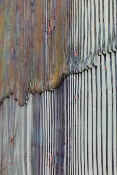 鞠婷 《+-020115》 183×183×3.5cm 木板丙烯 2015