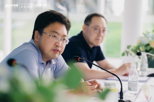 远洋集团北京开发事业部常务副总经理张晓岩