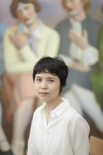 艺术家陈可(摄影:董林)