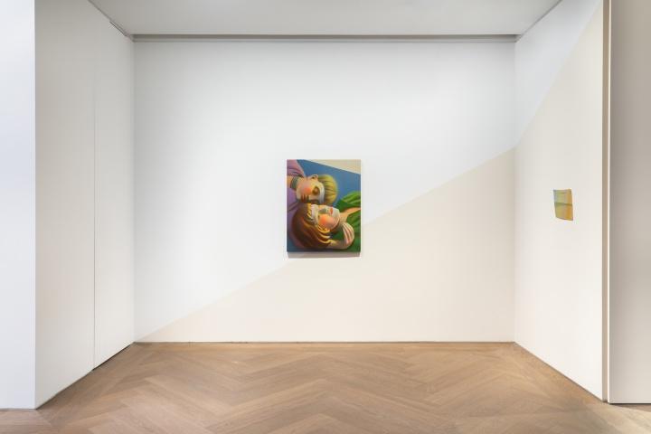"""""""包豪斯女孩/房间""""展览现场,陈可,贝浩登(上海),2021。 摄影:包梦琪。图片提供:艺术家与贝浩登。"""